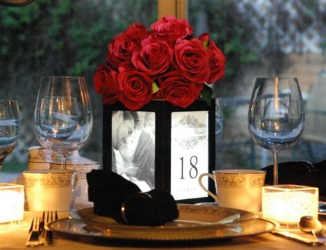 centerpieces with photos cheap wedding centerpieces ideas and inspirations ipunya