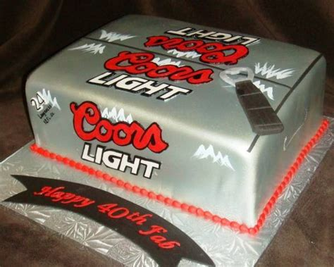 coors light cake cake cake cake and other sweet