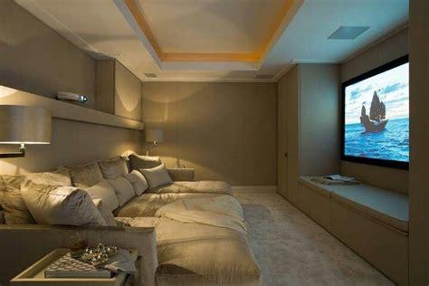 cozy theater room basement ideas theater - Cozy Media Room