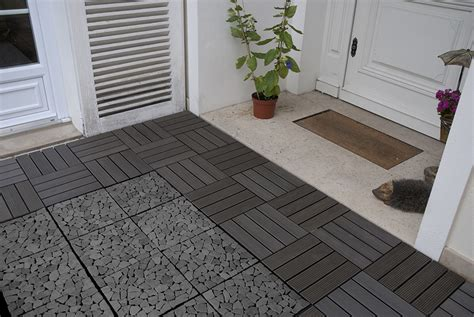 Xtiles Terrasse by Dalle Composite Anthracite 30x30x2 4 Cm Olg