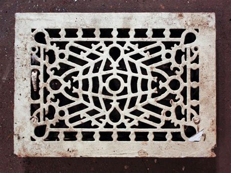 Cast Iron Floor Grate by Antique Cast Iron Floor Grate 8 X 12 Back Opening Nfg38