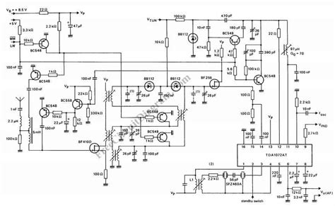 am radio integrated circuit superheterodyne receiver