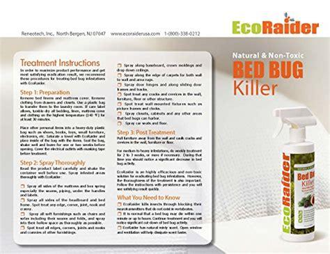ecoraider bed bug spray desertcart