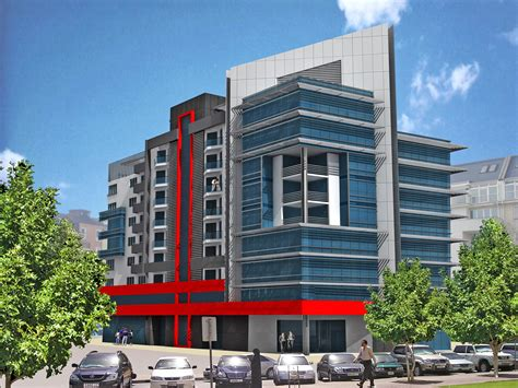 commercial building plans commercial residential building d arch studio 187 residential office and commercial