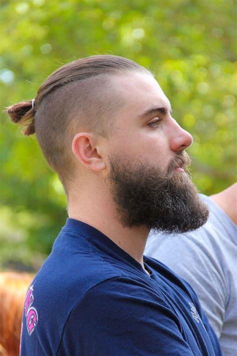 Low Fade Haircut Black Men With Beard Hair Style