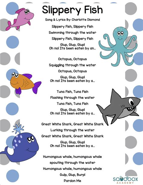 Slippery Fish Template by Slippery Fish Related Keywords Suggestions Slippery