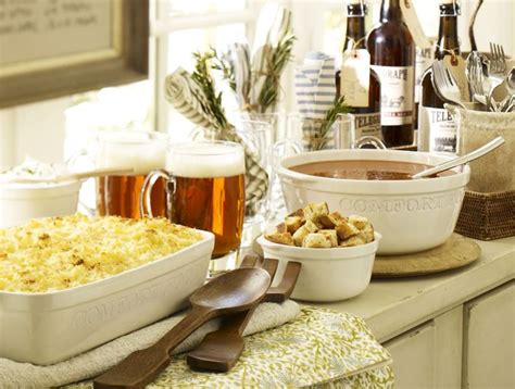 comfort food ideas how to throw a comfort food party entertaining ideas