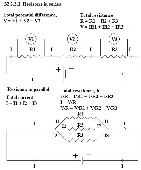 resistors in series and parallel light bulbs unph32