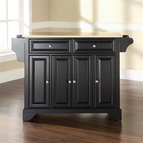 crosley furniture kitchen island shop crosley furniture black craftsman kitchen island at