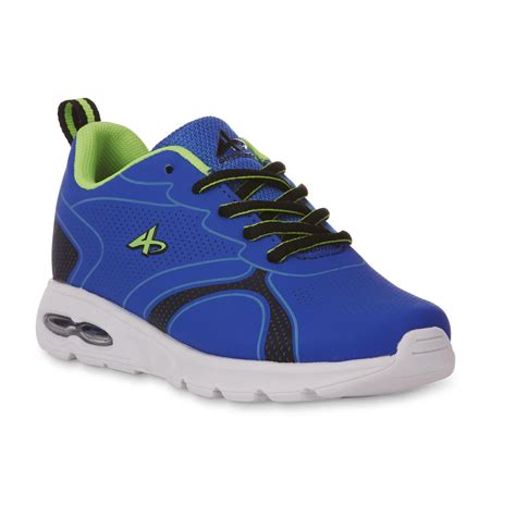 athletic shoes for boys athletech boy s topnotch blue green athletic shoe