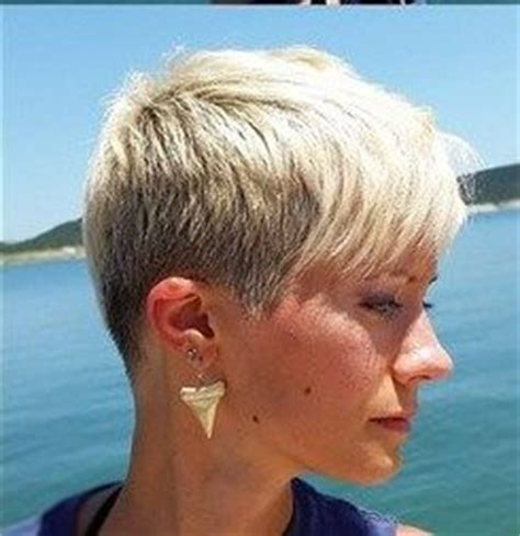pixie haircut with a clipper clipper cut long side bang pixie short hairstyles