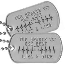 personalized tags for boyfriend relationship tags personalized message dogtags for friends spouses boyfriends and