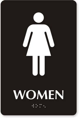 female bathroom sign image restroom signs bathroom signs