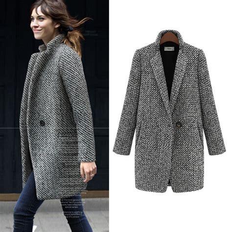 new year wool jacket aliexpress buy winter autumn woolen overcoat