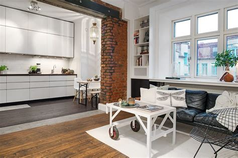 the kitchen design studio the delightful design of the studio flat scandinavian style