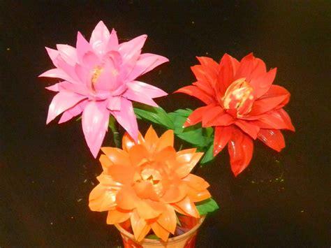 Jo In Hanging Water Bottle creative diy crafts dahlia flowers with waste water bottles