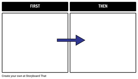 first then template storyboard by natashalupiani