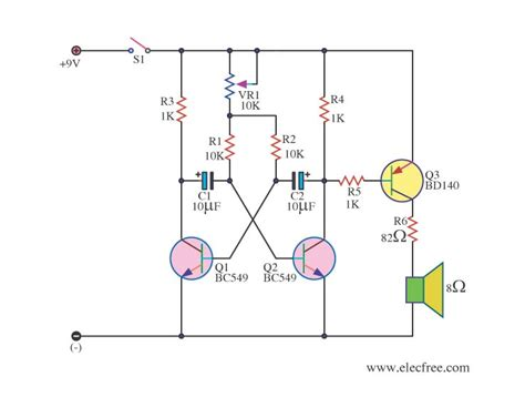 basic electronics transistors and integrated circuits simple metronome using transistor electronic projects circuits