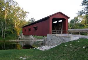 Covered Bridge Covered Bridges In The State Of Indiana Travel Photos By