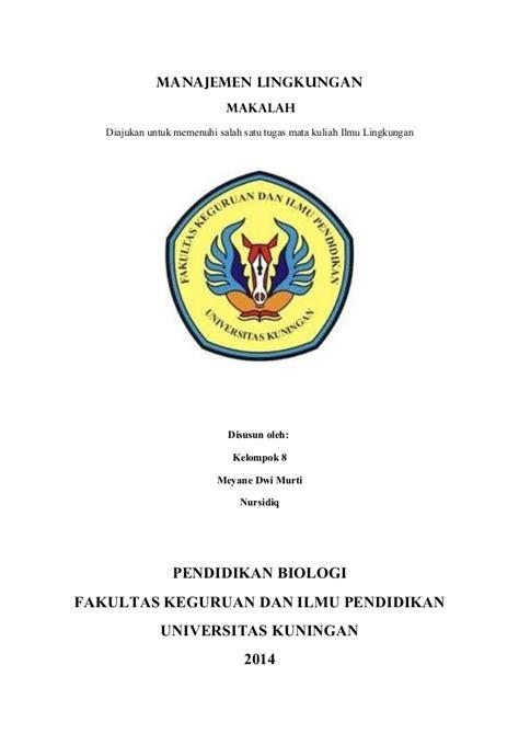 contoh cover makalah kusunj com contoh daftar isi karya ilmiah yang benar mi putri