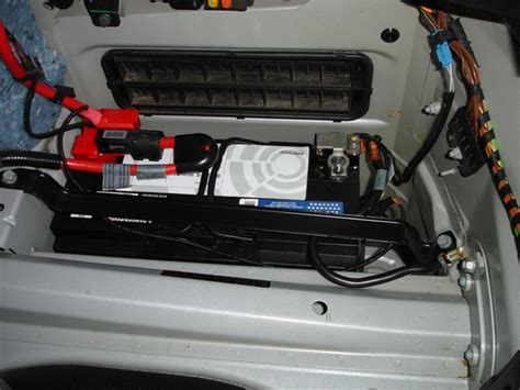 battery bmw e60 flood in my battery compartment 5series net forums