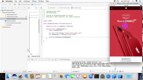 tutorial xcode webview make your own ios webview app in 5 minutes youtube