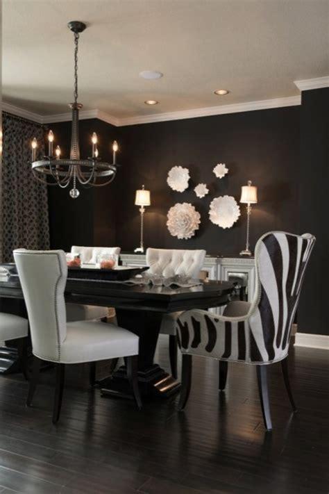 black  white dining room contemporary dining room benjamin moore caviar ramsey interiors