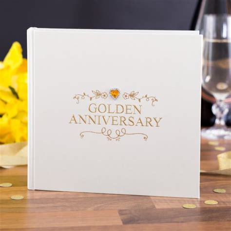 Wedding Anniversary Jewels by Golden Anniversary Album The Gift Experience