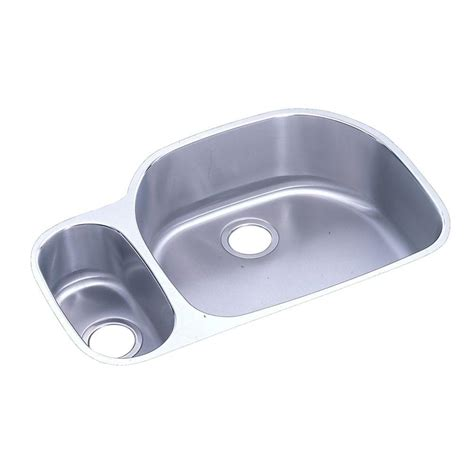 Knop Panci Stainless Mt 31 elkay lustertone undermount stainless steel 32 in bowl kitchen sink eluh3221l the home