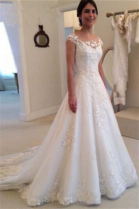 lace tulle wedding dresses  vestido de noiva