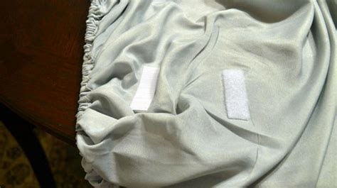 keep a fitted sheet from slipping with velcro