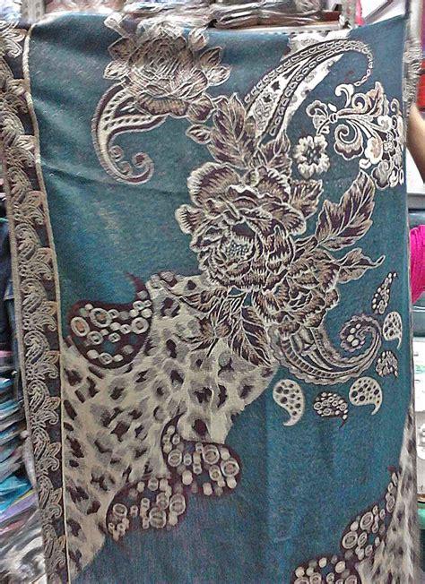 Jilbab Lamiz Batik psm batik b non metal 42 grosir asli pashmina grosir