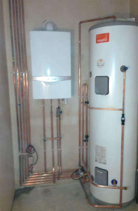 our member heatwize ltd installing a vaillaint system