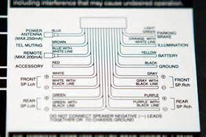 sony xplod unit wiring diagram