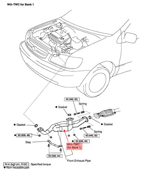 2004 Toyota Camry Exhaust System Diagram 2001 Toyota Tacoma Exhaust System Diagram Specs Price