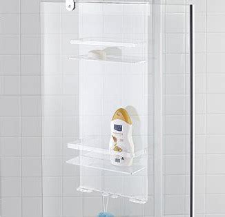 Acrylic Bathroom Shelves Custom Modern Acrylic Hanging Bathroom Shower Caddy Buy
