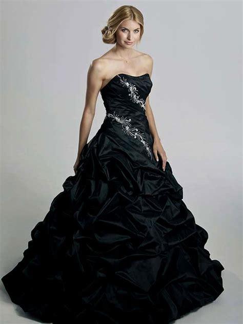 Brautkleider Schwarz by Hervorragend Hochzeitskleid In Schwarz Dekoration