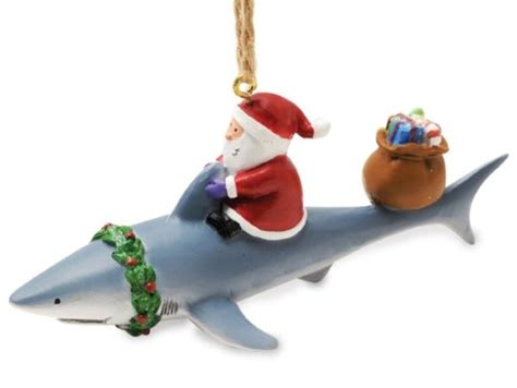 baby shark ornament show off your love of sharks this christmas petslady com