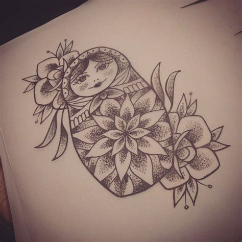 babushka doll tattoo designs best 25 russian doll ideas on doll