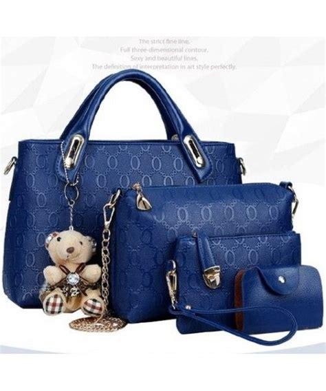 Tas Murah Import 4 In 1 tas import 4 in 1 bt4699 blue grosir tas import