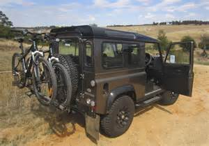 isi advanced 4x4 bicycle carrier systems land rover