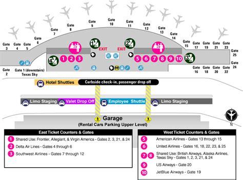 texas airport terminal map tx aus texas sky