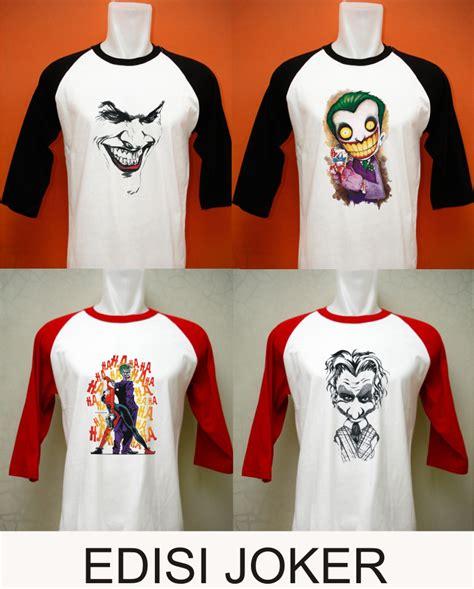 Kaos The Joker deegalleryan kaos edisi joker
