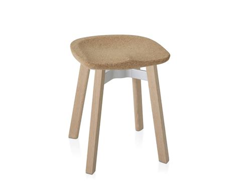 Ongoing Stools by Su Small Stool With Cork Seat Hivemodern