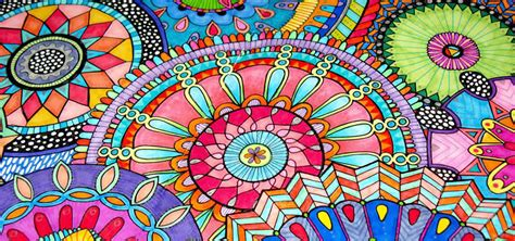 hoy pintamos mandalas capturando la vida 191 por qu 233 pintar mandalas ecosalud