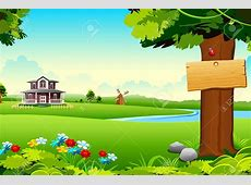 Lake Scenery Clip Art – Cliparts House With Garden Clipart