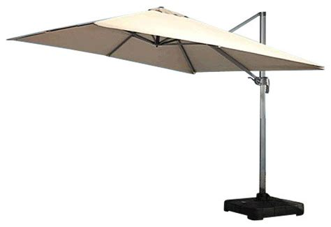 Modern Patio Umbrellas Renava Modern Patio Umbrella With Base Contemporary Outdoor Umbrellas By Wefurnit