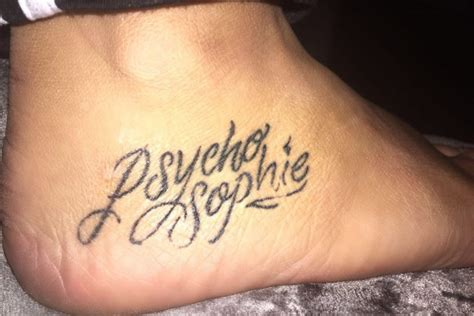 Tattoo Of Us Sophie | sophie kasaei marnie doesn t listen to me