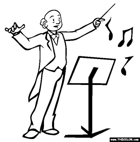 music education coloring pages conductor 20clipart clipart panda free clipart images