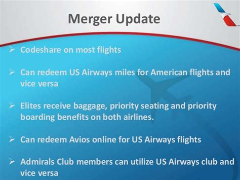 us airways american airlines merger implications the stengel angle leveraging the american airlines aadvantage program 2014